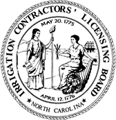 North Carolina Irrigation Contractor Logo